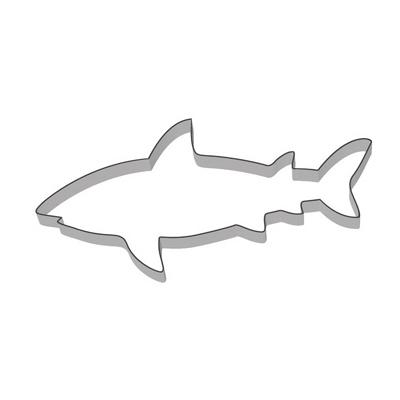 画像1: 〒 クッキー型(Stadter)サメ【ステンレス】 (1)