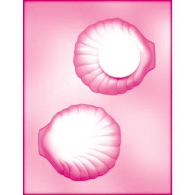 画像1: CK チョコレート型/大きな貝(3D) (1)