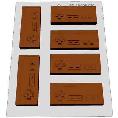 画像1: 〒 CK チョコレート型/レトロゲームコントローラー (1)
