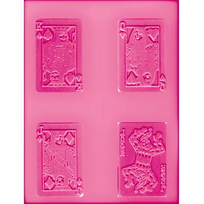 画像1: 〒 CK チョコレート型/トランプカード (1)