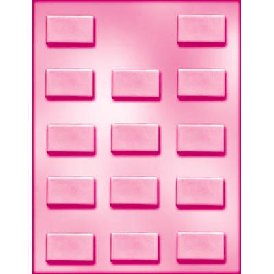 画像1: 〒 CK チョコレート型/シンプル長方形 (1)