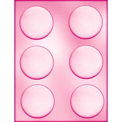 画像1: 〒 CK チョコレート型/平べったい丸6.5cm (1)
