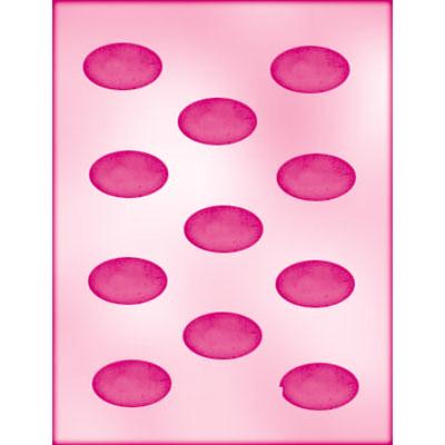 画像1: 〒 CK チョコレート型/シンプル楕円プレート (1)