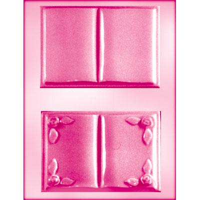 画像1: 〒 CK チョコレート型/開いた本2種(Lサイズ) (1)
