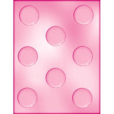 画像1: 〒 CK チョコレート型/シンプル丸ミント 4cm (1)
