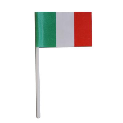 画像1: 〒 ケーキピック/イタリア国旗(6本入) (1)