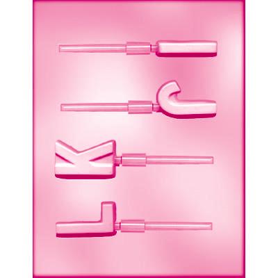 画像1: 〒 CK チョコレート型ロリポップ/IJKL (1)