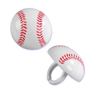 画像1: ケーキリング/ベースボール(5個入) (1)