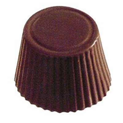 画像1: 〒 〒 ポリカーボネート製 チョコレート型/丸カップ 21 ※1個までネコポス可 (1)