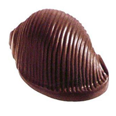画像1: 〒 ポリカーボネート製 チョコレート型/貝 (1)