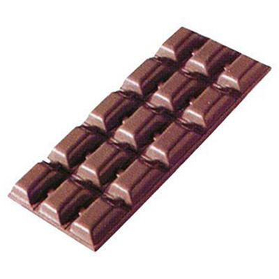画像1: ポリカーボネート製 チョコレート型/板チョコ15 (1)