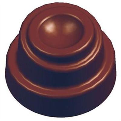 画像1: ポリカーボネート製 チョコレート型/スパイラルコーン (1)