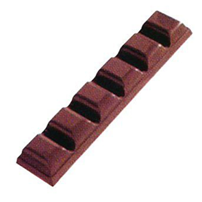 画像1: 〒 ポリカーボネート製  チョコレート型/シングルチョコバー (1)