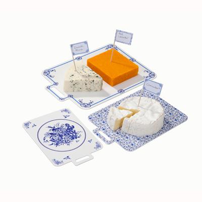 画像1: Talking Tables チーズボード/ポーセリンブルー(ピック付き) (1)