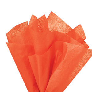 画像1: 〒 クシュ紙(5枚)ネイブルオレンジ 51×76cm (1)