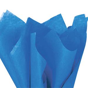 画像1: 〒 クシュ紙(5枚)ロイヤルブルー 51×76cm (1)