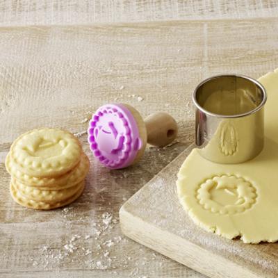 画像1: クッキースタンプ★ミニ(BIRKMANN)ティーポット5cm (1)