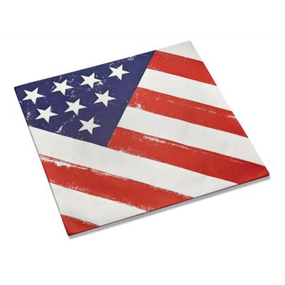 画像1: 〒 フードペーパー/アメリカン星条旗 (1)