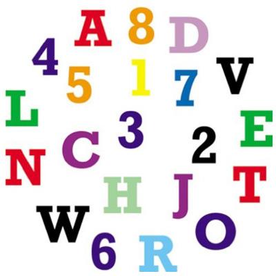 画像1: 〒 FMM 抜き型 アルファベット(大文字) (1)