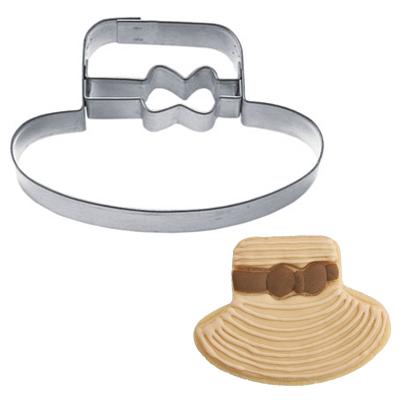 画像1: 〒 クッキー型(Stadter)リボン帽子【ステンレス】 (1)