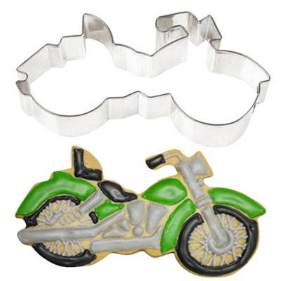 画像1: 〒 クッキー型(FoxRun)バイク【ステンレス】 (1)
