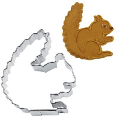 画像1: Stadter クッキー型/リス(ステンレス) (1)