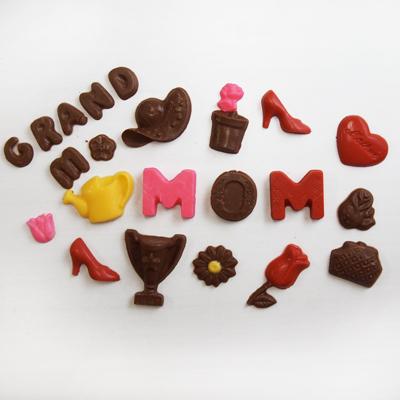 画像1: 〒 CK チョコレート型/母の日パーツセット (1)