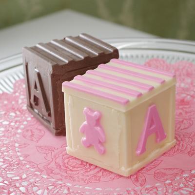 画像1: 〒 CK チョコレート型/ベビーブロック (1)