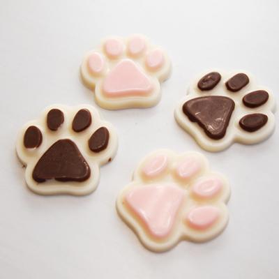 画像1: 〒 CK チョコレート型/犬の肉球 (1)