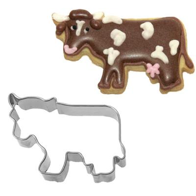 画像1: 〒 クッキー型(BIRKMANN)牛【ステンレス】 (1)