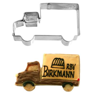 画像1: 〒 クッキー型(BIRKMANN)トラック【ステンレス】 (1)