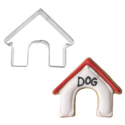 画像1: 〒 クッキー型(BIRKMANN)犬小屋【ステンレス】 (1)