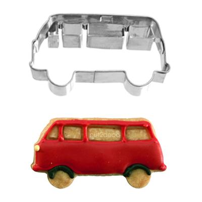 画像1: 〒 クッキー型(BIRKMANN)ワゴン車【ステンレス】 (1)