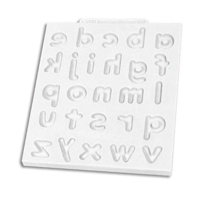 画像1: 〒 シリコン型/アルファベット(小文字) (1)
