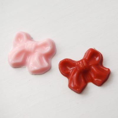 画像1: 〒 CK チョコレート型(プチサイズ)リボン (1)
