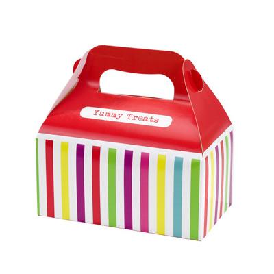 画像1: ケーキボックス(4枚入)カラフル (1)