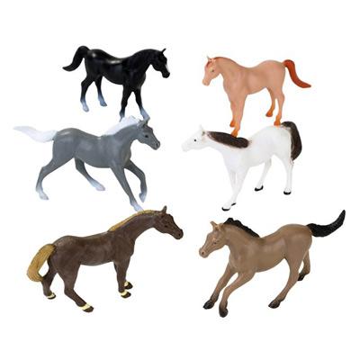 画像1: ディスプレイ/馬のフィギア12頭 (1)