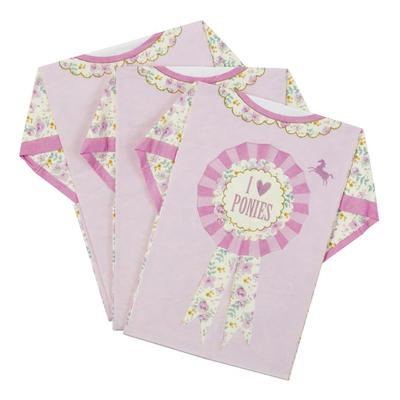 画像1: 〒 紙ナプキン(40cm)Tシャツ/ポニー・パーティー (1)