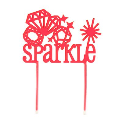 画像1: 〒 ケーキトッパー/SPARKLE (1)