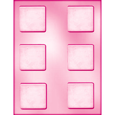 画像1: 〒 CK チョコレート型/シンプル正方形 (1)