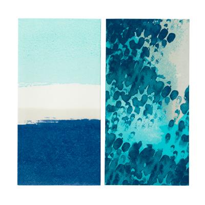 画像1: 〒 紙ナプキン(33cm)コーストブルー (1)