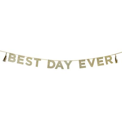 画像1: Talking Tables パーティバナー・ガーランド/Best Day Ever (1)