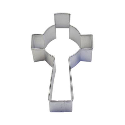 画像1: 〒 クッキー型/十字架(セルティッククロス) (1)