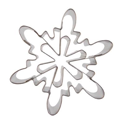 画像1: クッキー型/雪の結晶A (1)