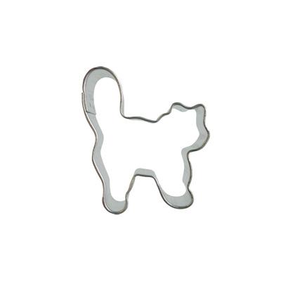 画像1: 〒 クッキー型★ミニ/しっぽ猫 (1)