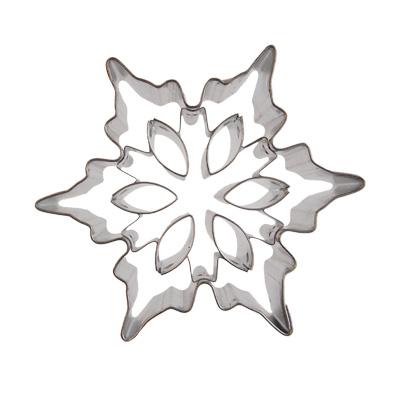 画像1: 〒 クッキー型/雪の結晶B (1)