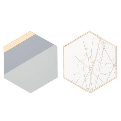 画像1: コースター/メタリック(12枚入り) (1)