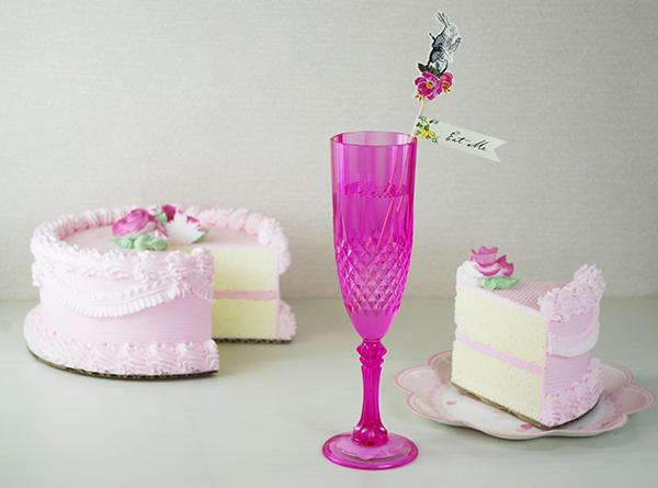シャンパングラスピンク