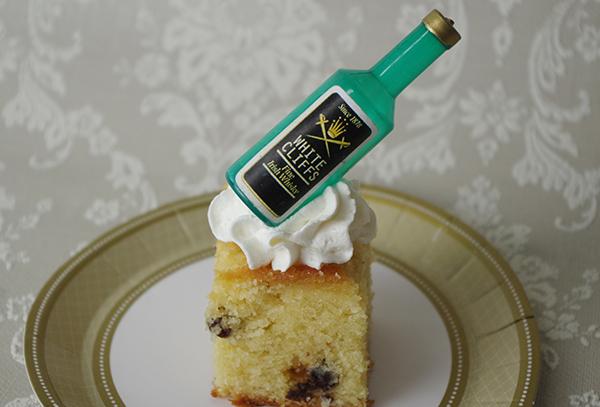 お酒のケーキ