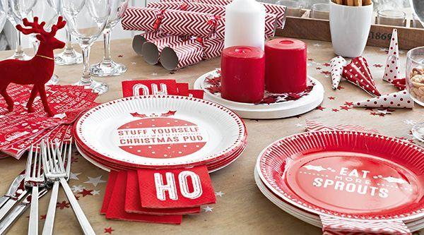 クリスマスディナープレート